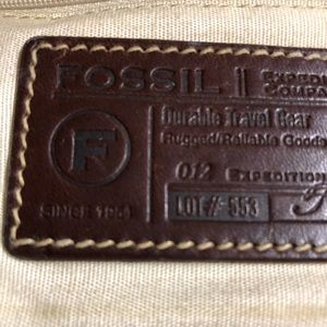Fossil Bags - Fossil Backpack 10552 Expedition Olive Canvas